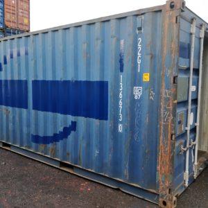 Käytetty merikontti 6m HKI